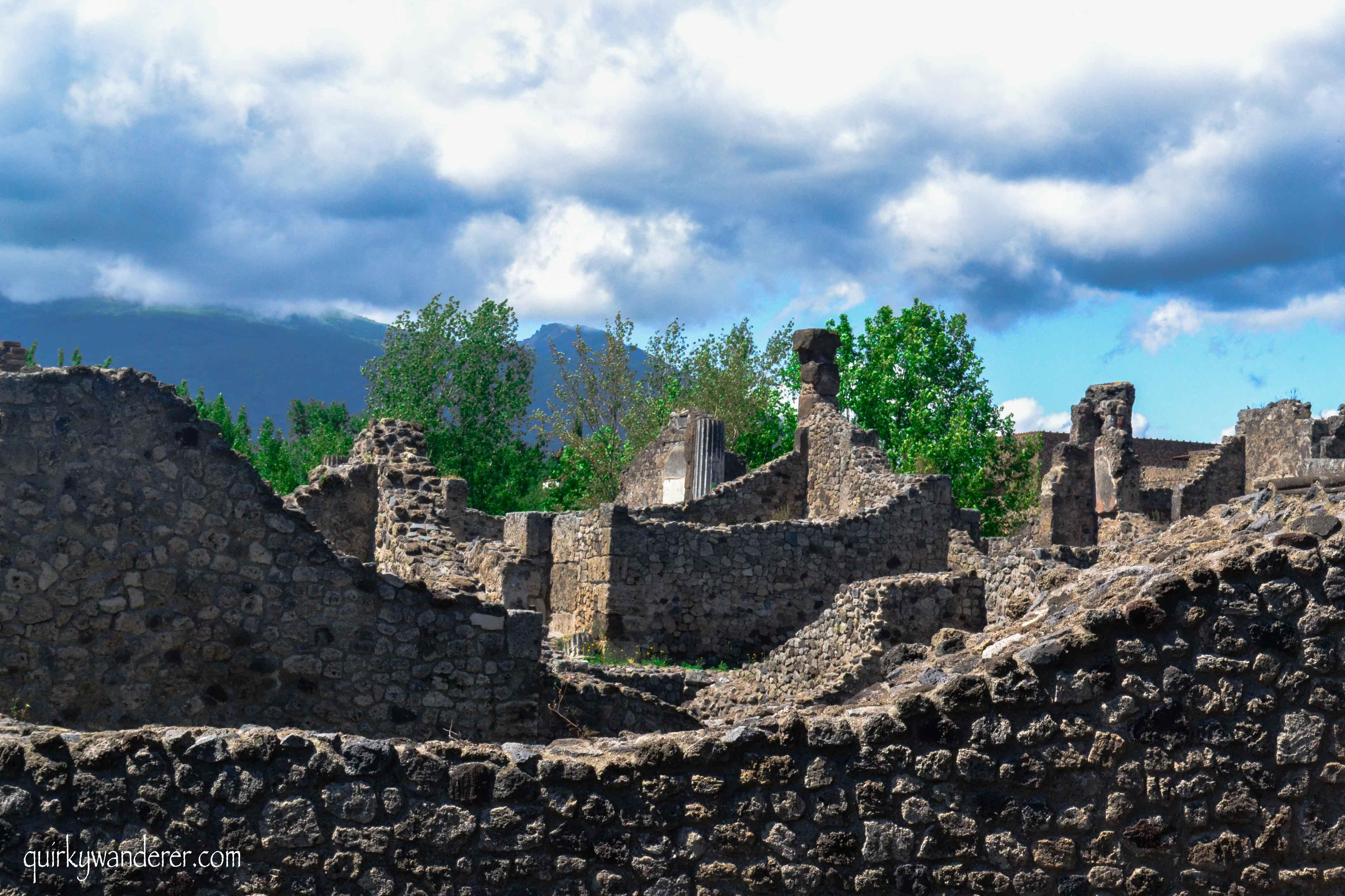 Pompeii lost city of Italy