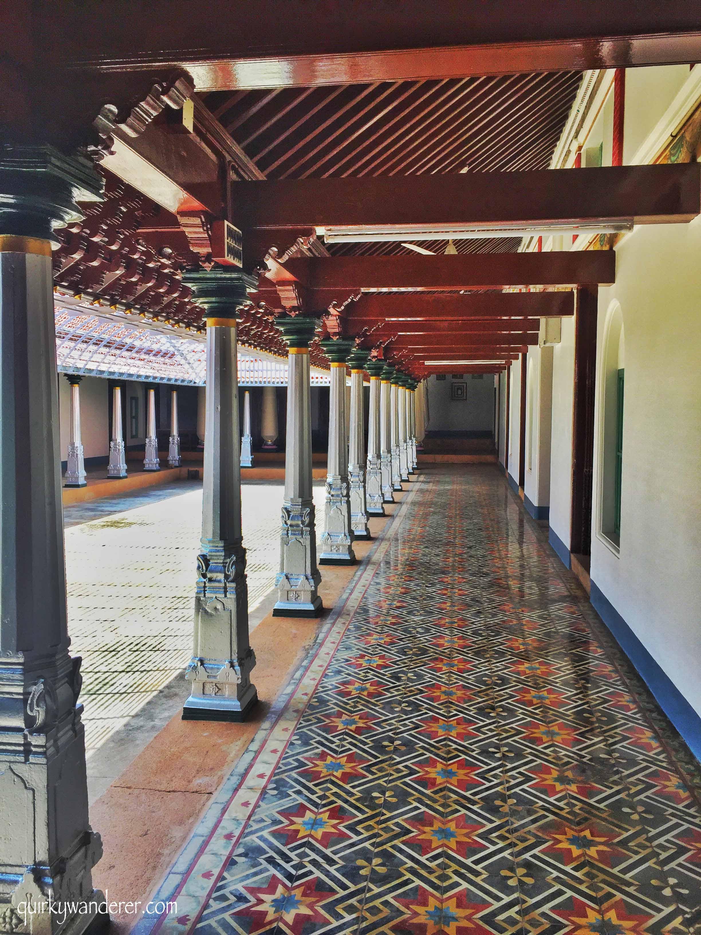 Athangudi tiles in karaikudi