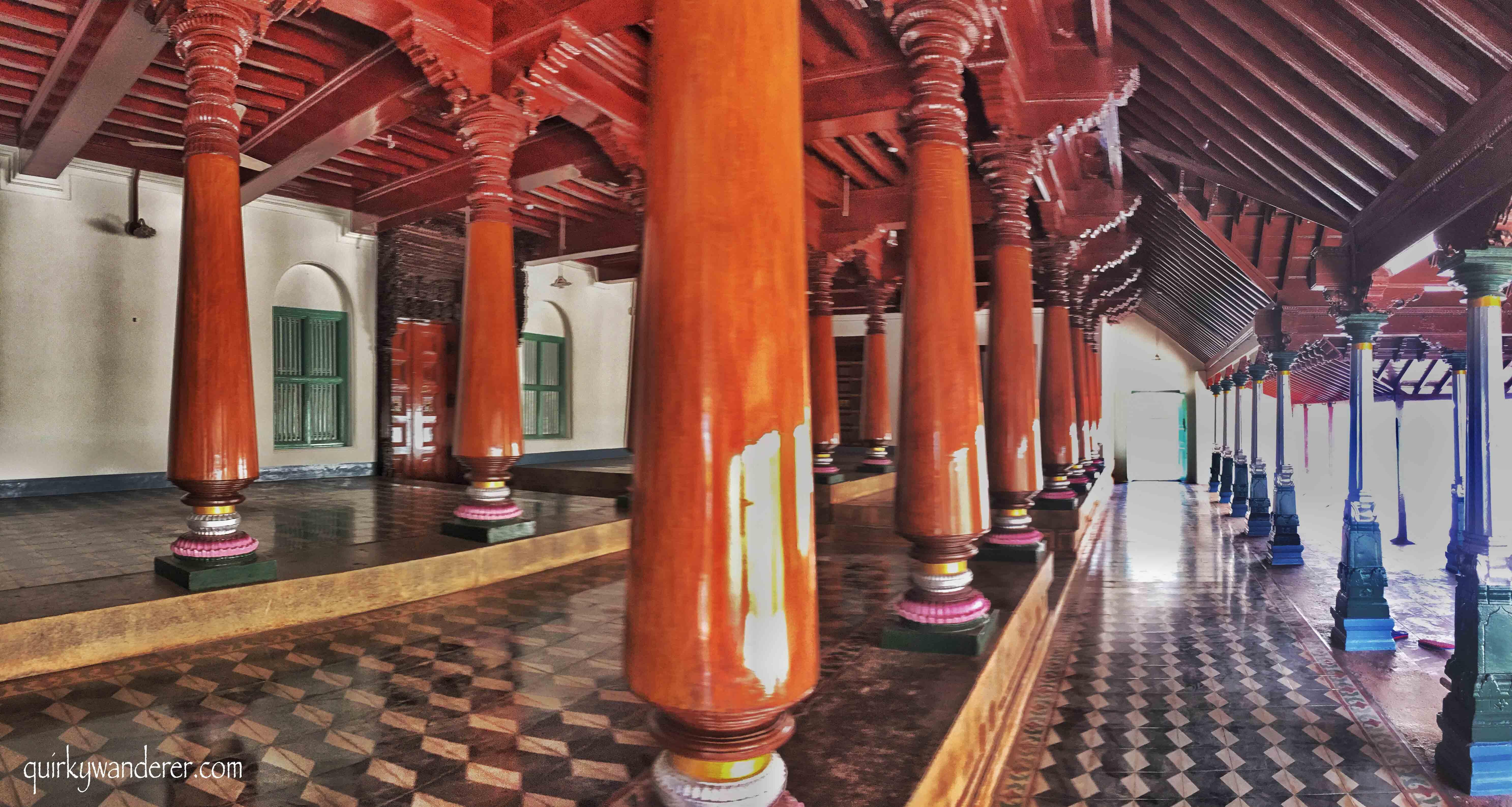 Burmese teak in Chettinad