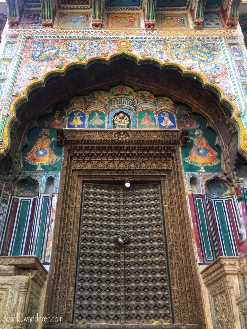 Havelis of Shekhawati , Rajasthan